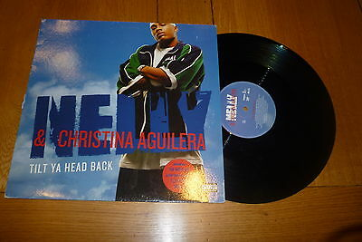NELLY featuring CHRISTINA AGUILERA - Tilt Ya Head Back - 2004 UK 3-track 12""