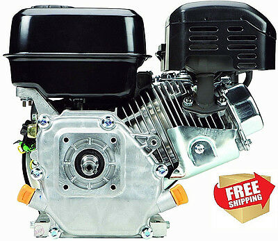 GASOLINE REPLACEMENT ENGINE 6.5HP OHV HORIZONTAL SHAFT 212cc 4 CYCLE com at $400