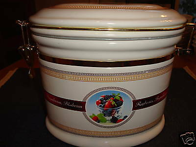 Ceramic Canister Made Exclusively for Knotts Berry Farm
