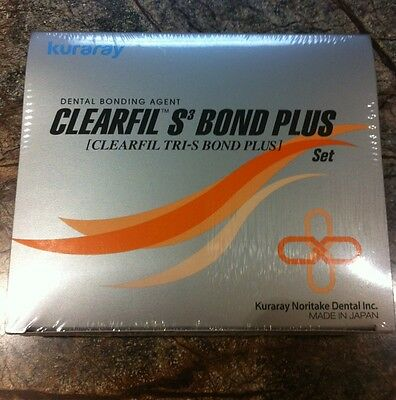 Clearfil S3 Tri-S Bond Plus Set Kuraray Dental Adhesive Bonding Agent