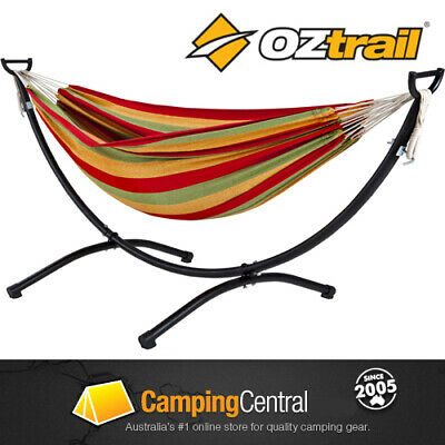 Oztrail Hammock Frame Stand Set (Includes Double Hammock)