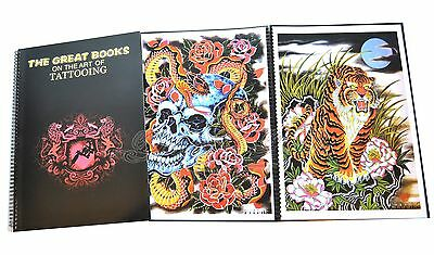 The Great Books On The Art Of Tattooing A3 Tattoo Flash Japan Filip Leu Mosher