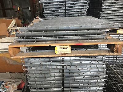 Wire Decks - USED Decking for Pallet Rack teardrop Grid 36x46