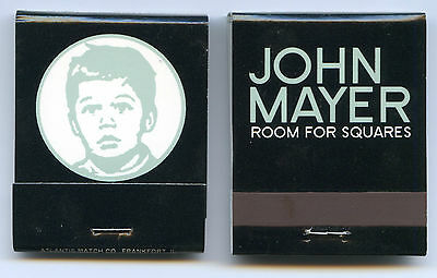 JOHN MAYER 2001 Room For Squares promo Matchbook!!! RARE
