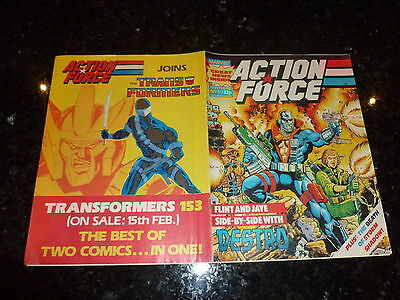 ACTION FORCE - No 50 - Date 13/02/1988 - Marvel Comic - Last Issue
