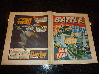BATTLE PICTURE WEEKLY Comic - Date 29/10/1977 - UK Comic