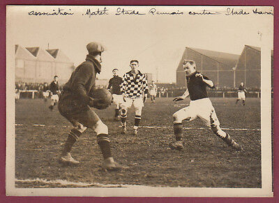 PHOTO DE PRESSE ROL - CLICHY 1925 FOOT Rennes Le Havre