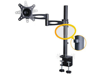 "13-27"" LCD TV Monitor Desk Mount Bracket with Arm 15KG"