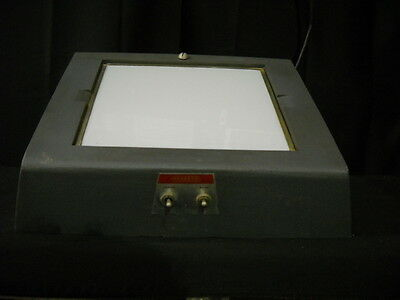 Shandon X-Ray Viewing Xray Viewer Light Box Illuminator Cat # 2859