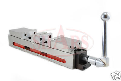 """6""""  Double Vise Milling Lock Down Hardened .0004 New"""