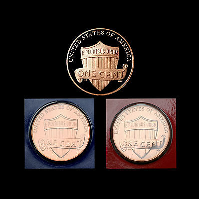 2011 P+D+S Lincoln Shield Penny ~ Mint Proof ~ PD from Mint Set