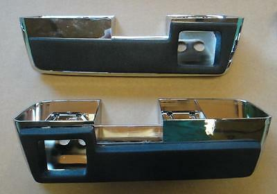 Mopar 64-65 B and C Body Rear Armrest Pads and Bases NEW