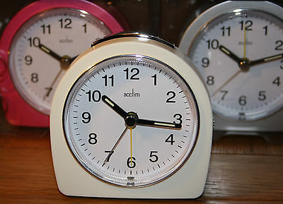 ACCTIM FREJA  BATTERY ALARM CLOCK with SNOOZE /LIGHT