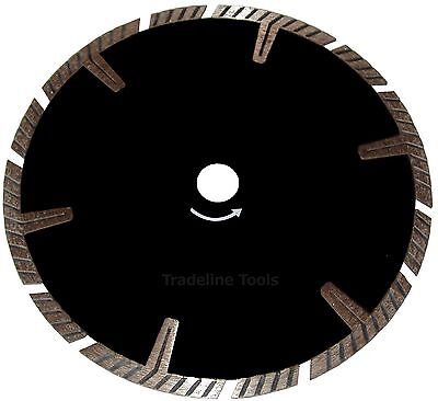 "T Type Turbo 9"" / 230mm Diamond Cutting Blade.TRADE Quality. Concrete.Tiles, etc"