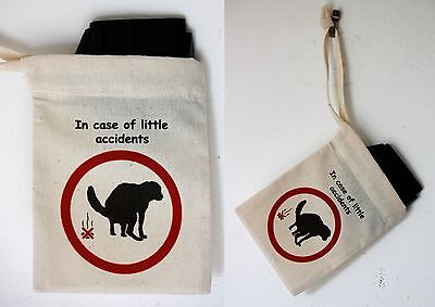 Cotton Poo Bag Carrier - for all those little accidents, A Novel Present