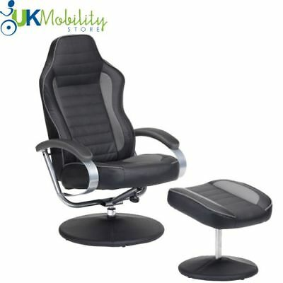 Dual Motor Rise And Recliner Lift Tilt Lay Down Mobility Chair Recline Armchair