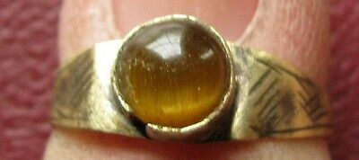 Ancient Artifact   Metal Detector Find   FINGER RING 5 US 15.75mm 9679 DR
