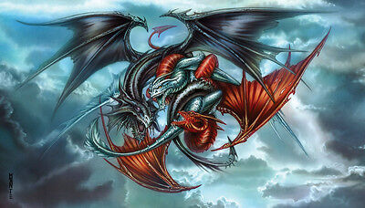 """""""Trinity Dragons"""" Limited Edition Signed and Numbered Fine Art Print"""