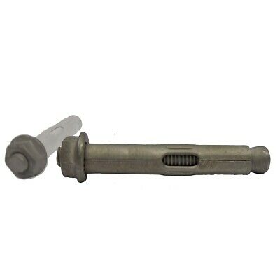 12mm x 75mm 25pc Galvanised Masonry Sleeve Anchors (Dynabolts/Dyna bolts type)