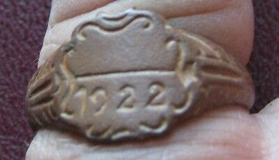 Authentic Antique Artifact > Metal Detector Find > FINGER RING 11 US 20.5mm 9244