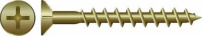 8g X 45mm Zinc Chipboard Screws 1000pc Phillips Head/Countersunk - Timber/Wood