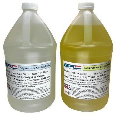 Fabri-Cast 50 Ultra-Low Viscosity Urethane Casting Resin 2 Gallons