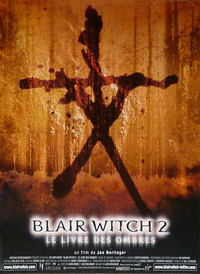 Blair Witch 2 : Book Of Shadows - Original Small French Movie Poster