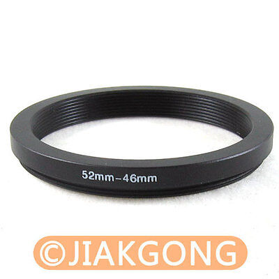 52mm-46mm 52-46 Step Down Filter Ring Stepping Adapter