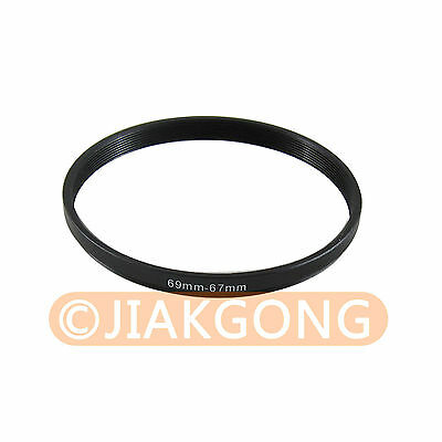 69mm-67mm 69-67 Step Down Filter Ring Stepping Adapter