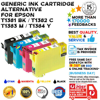 10X INK 138 for EPSON WorkForce 320 325 435 545 645 845 525 60 625 630 633 840