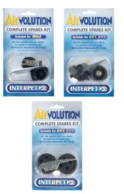 Interpet Airvolution Complete Spares Kit Avmini Av 1 2 3 4 Fish Tank Air Pump