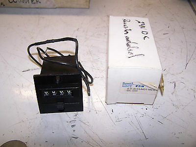 New Durant 4 Digit 12Vdc Counter W/ Reset 3.0 Watt  4Y41314-401-Mequ