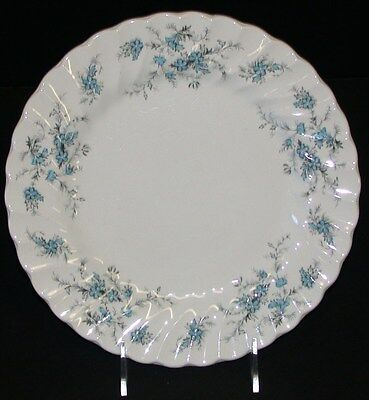 "(1) Myott Staffordshire Ware ""For-Get-Me-Not"" China ~ 10"" Dinner Plate"