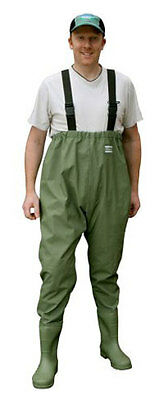 Shakespeare Chest Waist Pvc Fishing Waders Rrp £29.99
