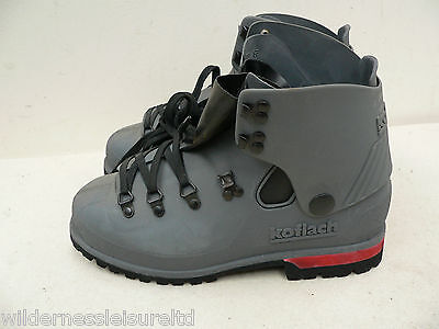 Koflach, Boots  Ice Climbing Mountaineering Plastic 9.5-13.5 sizes Army Surplus