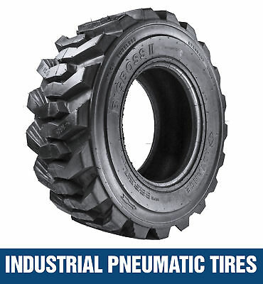 10-16.5 8pr PREMIUM SKID STEER LOADER TIRE Deep Tread  (4 Tires) 10x16.5