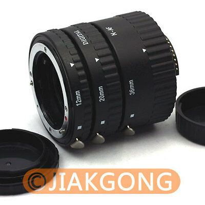 MEIKE Auto Focus Macro Extension Tube For NIKON AF AF-S DX FX