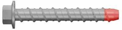 8 x 75mm 50pc Galvanised Screw Bolt Masonry/Concrete Bolt with Hex Head