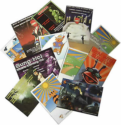 "2500 Full Color 2 Sided REAL PRINTING 5.5"" x 8.5"" Flyers Brochures Aqueous Gloss"