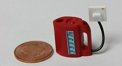 Dolls House  Miniature 1/12th Scale Electric Kettle with Socket - non working