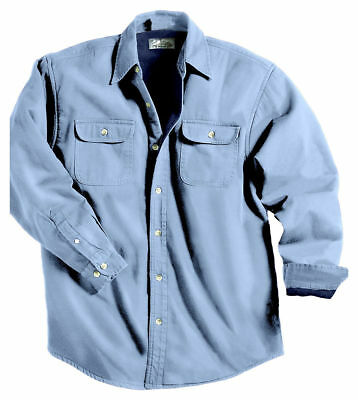 Tri-Mountain Men's Big And Tall 100% Cotton Long Sleeve Winter Jacket. 869-Tall
