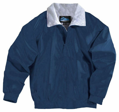 Tri-Mountain Men's Big And Tall  Water Resistant Nylon Winter Jacket. 3400-Tall