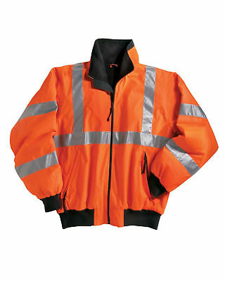Tri-Mountain Men's New Polyester Long Sleeve Windproof Best Safety Jacket. 8830