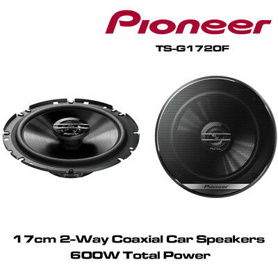 """PIONEER TS-G1732i 17cm 6.5"""" 16.5cm 240W PAIR CAR SPEAKERS 2WAY Coaxial Co axial"""