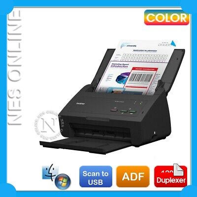 Brother ADS-2100e USB Automatic Colour Document Scanner+Duplexer+ADF Damaged Box