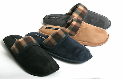 61d91bf70b9 New Mens Soft Warm   Cozy Easy Slip on Indoor Winter House Slippers Scuffs  Shoes
