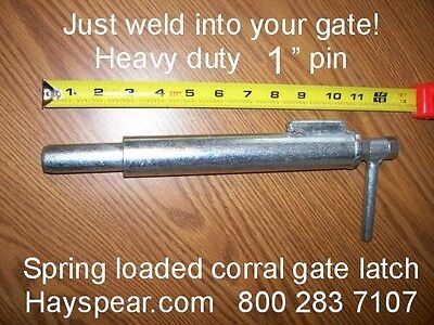 Large Corral Gate Latch