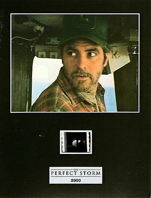 "THE PERFECT STORM  Movie 7""x 5"" SENITYPE FILM CELL + PHOTO-George Clooney"