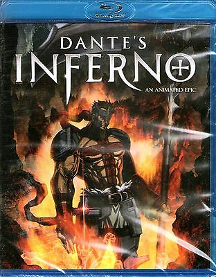 Dantes Inferno-Blu Ray Dvd-R1-Brand New/still Sealed