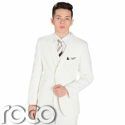 Boys Ivory Wedding, Page Boy Suits, Prom Suits, Boys Suits